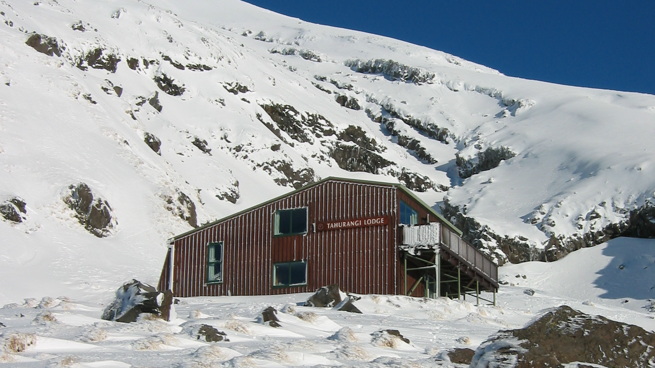 Tahurangi Lodge in Winter