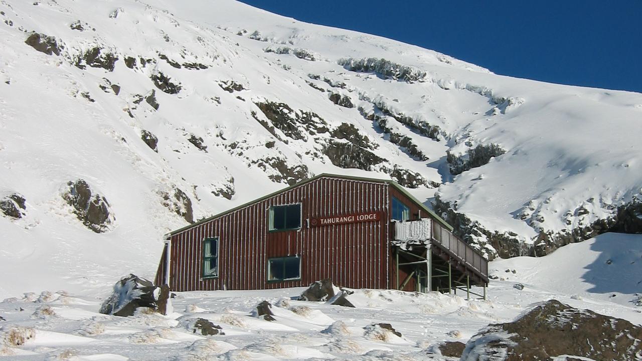 Tahurangi Lodge in Winter